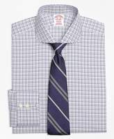 Brooks Brothers Non-Iron Madison Fit Two-Tone Windowpane Dress Shirt
