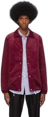 Comme des Garcons Red Corduroy Jacket