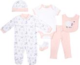 Cutie Pie Baby Pink Farm Footie Set - Infant