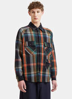 Missoni Check Shirt In Multi-colour