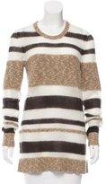 Jason Wu Striped Open Knit Sweater