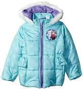 Disney Toddler Girl Frozen Puffer Jacket 4t