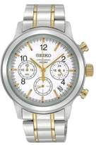 Seiko 6T63-00A0 2T Chronograph Date Display Bracelet Mens Watch