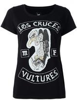 Loha Vete vulture print T-shirt