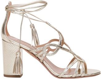 Aquazzura Lace Up Sandals