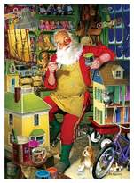 Cobble Hill Santa's Workshop 1000pc Puzzle