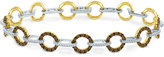 LeVian Le Vian® Chocolatier Diamond Bracelet (2-5/8 ct. t.w.) in 14k Yellow and White Gold