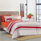 Lacoste Sirocco King Duvet Cover Set in Red