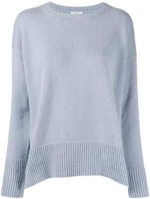 Peserico side slit knitted jumper
