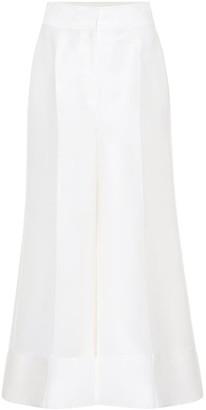 Roksanda Bridal wool-blend trousers