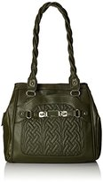 Rosetti Twist It Up Double Handle Quilting Shoulder Bag