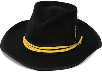 Nick Fouquet ribbon-trimmed hat
