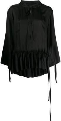 Ann Demeulemeester long-sleeved tunic top