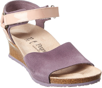 Birkenstock Papillio By Eve Suede Wedge Sandal