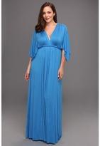 Rachel Pally Plus - Plus Size Long Caftan Dress - WL (Mykonos) - Apparel