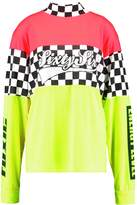 Jaded London HIGH NECK NEON Long sleeved top multicoloured