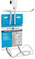 InterDesign Inc Toilet Tank Two-Roll Tissue Holder
