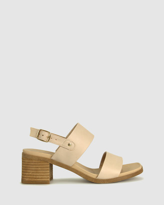 Zeroe - Women's Neutrals Heeled Sandals - Preppy Square Toe Sandals - Size One Size, 5 at The Iconic