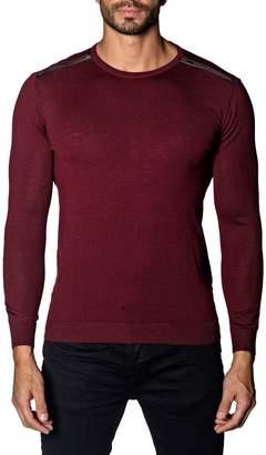 Jared Lang Trim-Fit Zip-Detail Lightweight Sweater