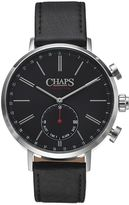 Chaps Men's Leather Connected Hybrid Smart Watch