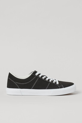 H&M Imitation suede trainers - Black