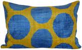 Orientalist Home Lya Ikat 16x24 Pillow - Yellow