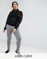 Asos Leggings With Deep Waistband