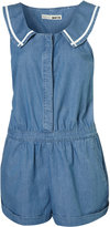 Denim Sailor Playsuit
