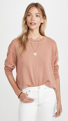 James Perse Relaxed Crop Pullover