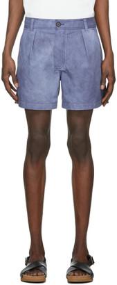 Jacquemus Navy Le Short Tennis Shorts