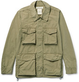 Remi Relief Washed Cotton-Blend Canvas Field Jacket
