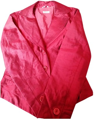 Max & Co. Red Silk Jacket for Women