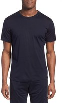 Daniel Buchler Men's Yarn Dyed Silk & Cotton Crewneck T-Shirt