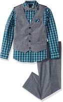 Nautica Big Boys' Set with Vest, Shirt, Pant, and Bow Tie