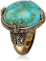 "Barse Village"" Genuine Bronze Prong Ring, Size 6"