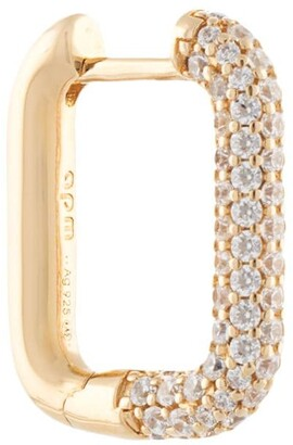 APM Monaco Rectangle Hoop Earring