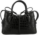 Tod's Tods Mini Bag Tods D Mini Bag In Croc Print Leather With Shoulder Strap