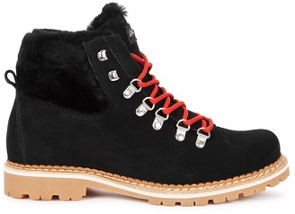 Montelliana Camelia Shearling-lined Ankle Boots