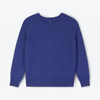 Lowie Marine Blue Recycled Cashmere Jumpigan - S
