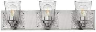 Hinkley Jackson Bath 3-Light Vanity, Brushed Nickel