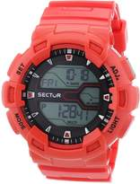 Sector S-3251172011 50mm Plastic Case Mineral Men's Watch