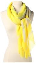 Steve Madden Neon Border Solid Stripe (Neon Yellow) - Accessories