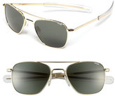 Randolph Engineering Men's 'Bayonet' 52Mm Sunglasses - Gold/ Agx