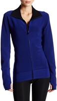 Norma Kamali Reversible Bonded Zip Jacket