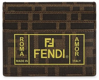 Fendi Ff Card Holder
