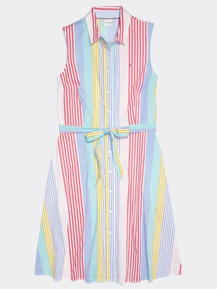 Tommy Hilfiger Stripe Shirtdress