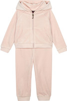 Juicy Couture Crystal velour cotton tracksuit 3-24 months