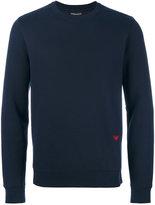 Emporio Armani embroidered logo sweatshirt - men - Cotton/Polyester - S