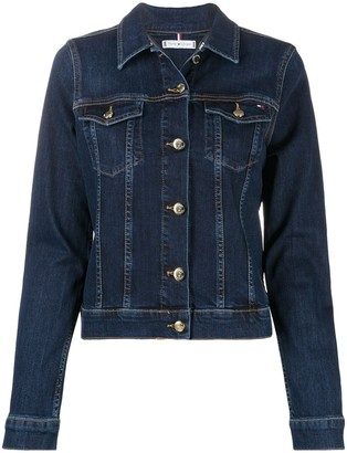 Tommy Hilfiger Fitted Buttoned Jacket