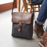 Vida Vida Canvas And Leather Mens Messenger Bag